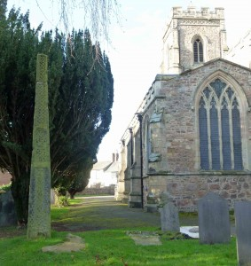 The churchyard cross at Rothley is believed to date from the 9th century