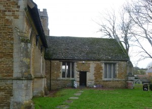Medbourne church was used as a school