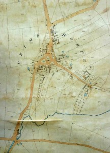 Primethorpe, 1845 (tithe map)