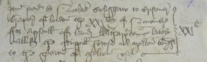 Melton Mowbray churchwardens' accounts, 1549