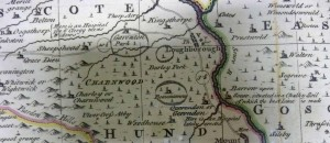Bowen's map of Leicestershire, 1756