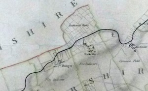 Canal plan, Grantham to Trent