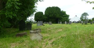 Burial ground adjacent to Wesleyan chapel at Griffydam