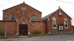Nether Broughton Wesleyan Chapel (on left, 1839)