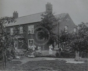 Chapel Farm, Nether Broughton in c.1907