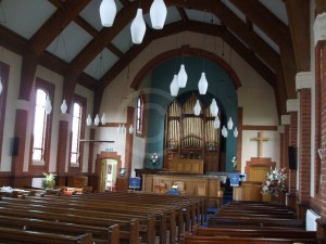Whetstone URC interior view