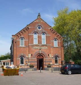 Burbage Wesleyan Chapel 1866