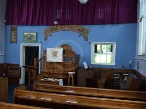 Sharnford Methodist Chapel interior